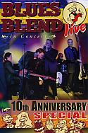 DVD Cover: Blues Blend live in concert - 10th Anniversary Special