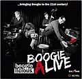 Audio CD Cover: Boogie Alive von David Herzel