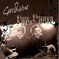Audio CD Cover: These Are the Days von Chris