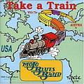 Audio CD Cover: Take A Train von Erik Trauner