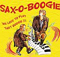 Audio CD Cover: Sax-O-Boogie