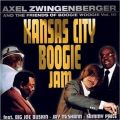 Audio CD Cover: Kansas City Boogie Jam von Axel Zwingenberger
