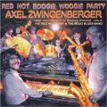 Audio CD Cover: Red Hot Boogie Woogie Party von Axel Zwingenberger