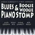 Audio CD Cover: Chase Garrett's 1st Annual Blues & Boogie Woogie Piano Stomp