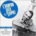 Audio CD Cover: Sessions 1945 - 1946 von Champion Jack Dupree
