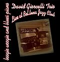 Audio CD Cover: Live At Bel-Luna Jazz CLub von David Giorcelli