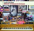 Audio CD Cover: Rockin´ My Blues In Chicago von Lluís Coloma