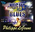 Audio CD Cover: Night Mist Blue von Philippe LeJeune