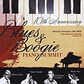 Audio CD Cover: Tenth Anniversary Blues & Boogie Piano Summit von Chase Garrett