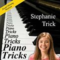 Audio CD Cover: Piano Tricks von Stephanie Trick