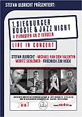 DVD Cover: 1. Siegburger Boogie & Jazz Night - Live In Concert von Moritz Schlömer