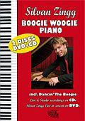 CD/DVD Cover: Boogie Woogie and Blues Piano von Silvan Zingg