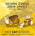 Audio CD Cover: Hot Cat Session Volume 1 - Stompin´ Boogie Woogie & Blues