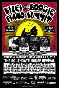 Annual Blues & Boogie Piano Summit