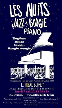 Les Nuit Jazz & Boogie Piano